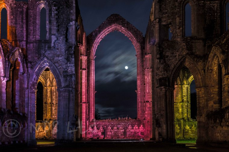 Fountains Abbey, Festival of  Light & Sound