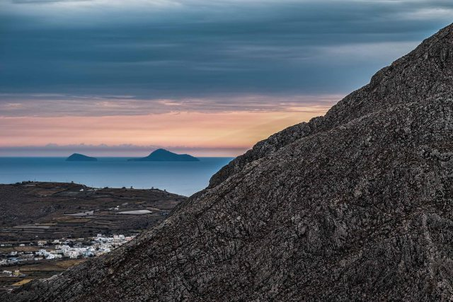 On the Path to Profitis Ilias, Santorini | Sigma Merrill DP3 | www.richardjwalls.com