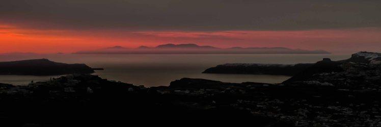 Santorini Sunset from Profiti Ilia