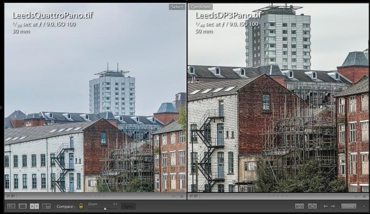 Leeds Panorama - Quattro & DP3 Detail