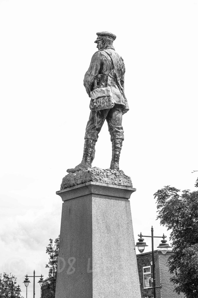 Ossett War Memorial B&W | Merrill DP3