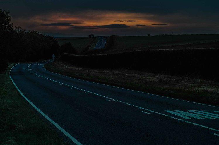 Night Glow, North Yorkshire | Sigma Merrill DP3 | www.richardjwalls.com