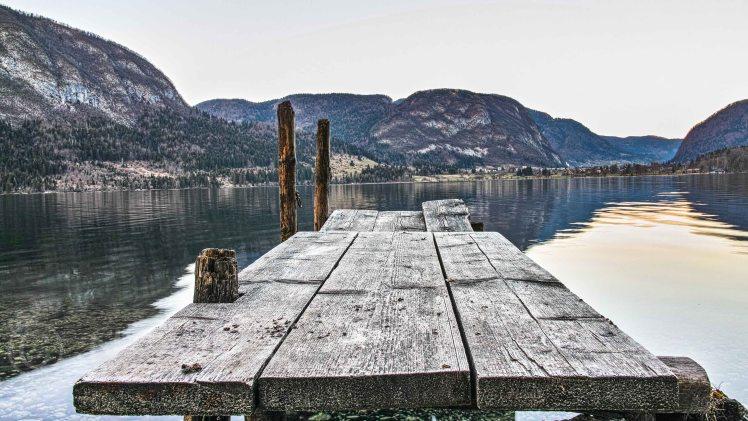 Lake Bohinj, Landing Stage | Sigma DP1 Merrill | www.richardjwalls.com
