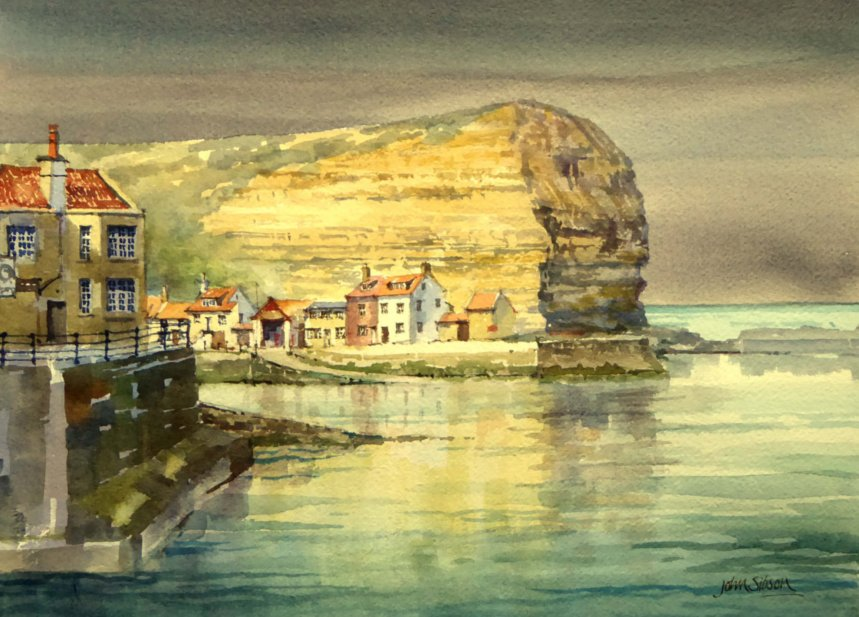 evening light staithes muker