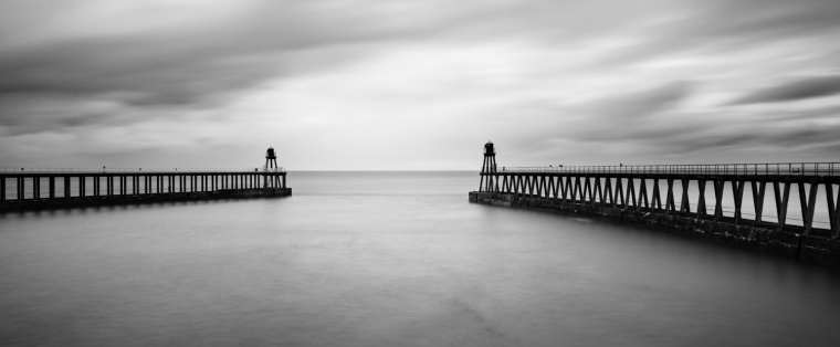 Whitby Piers - Richard Burdon
