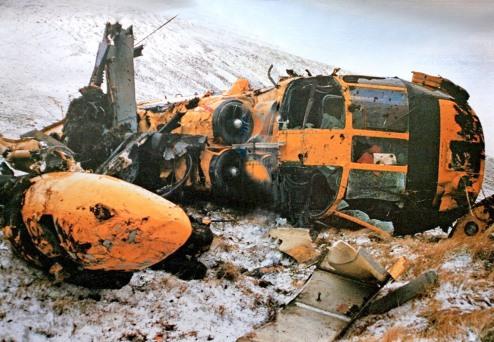 Helicopter crash Scotland